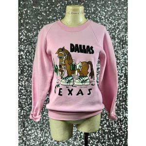 🖤 Vintage 1988 Dallas Texas sweatshirt